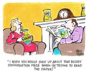 Conversation entre époux