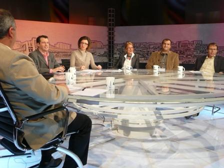 Un débat télévise