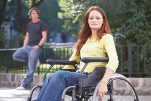 Femmes handicapée