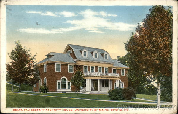 Delta Tau Delta Fraternity House at the University of Maine Orono