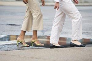 démarche chaussures