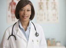 femme médecin