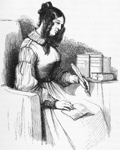 Illustration de Rose Cormon, un personnage de vieille fille créé par Balzac (1874) (source) https://fr.wikisource.org/wiki/La_Vieille_Fille